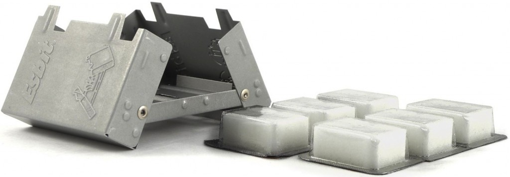 Esbit Ultralight Folding Pocket Stove with  Solid Fuel Tablets