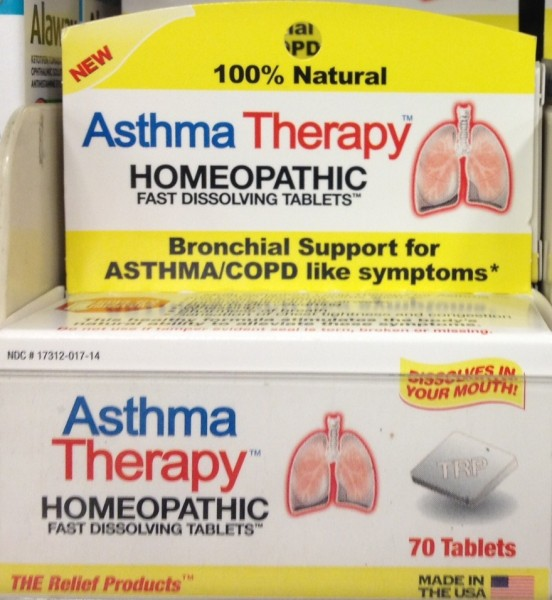 Natural Homeopathic Asthma Therapy